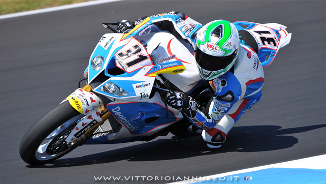 Vittorio_Iannuzzo_Test_Australia_Phillip_Island_Superbike_2013