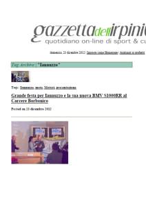 23.12.2012 - Gazzettadellirpinia