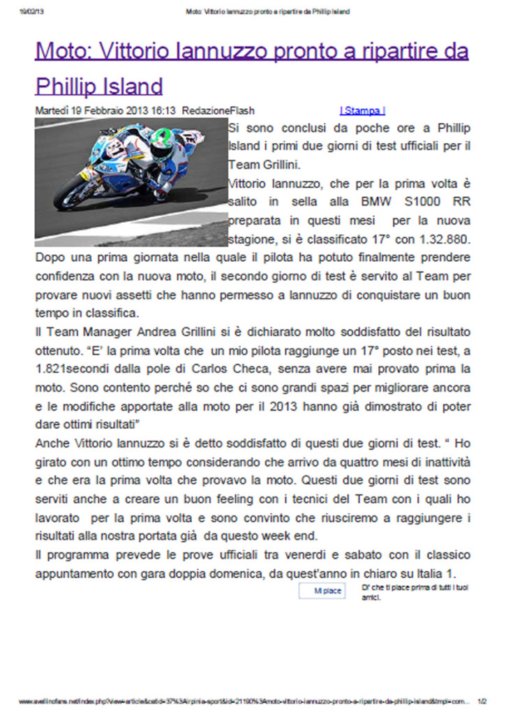 19.02.2013 - AvellinoFans