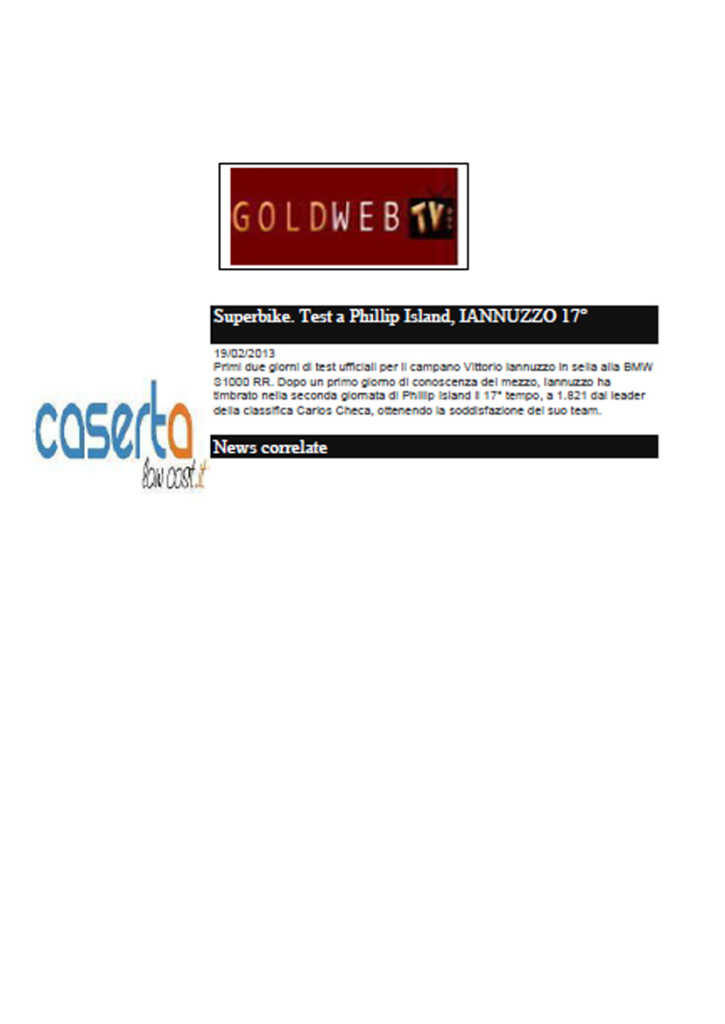 19.02.2013 - GoldWebTv