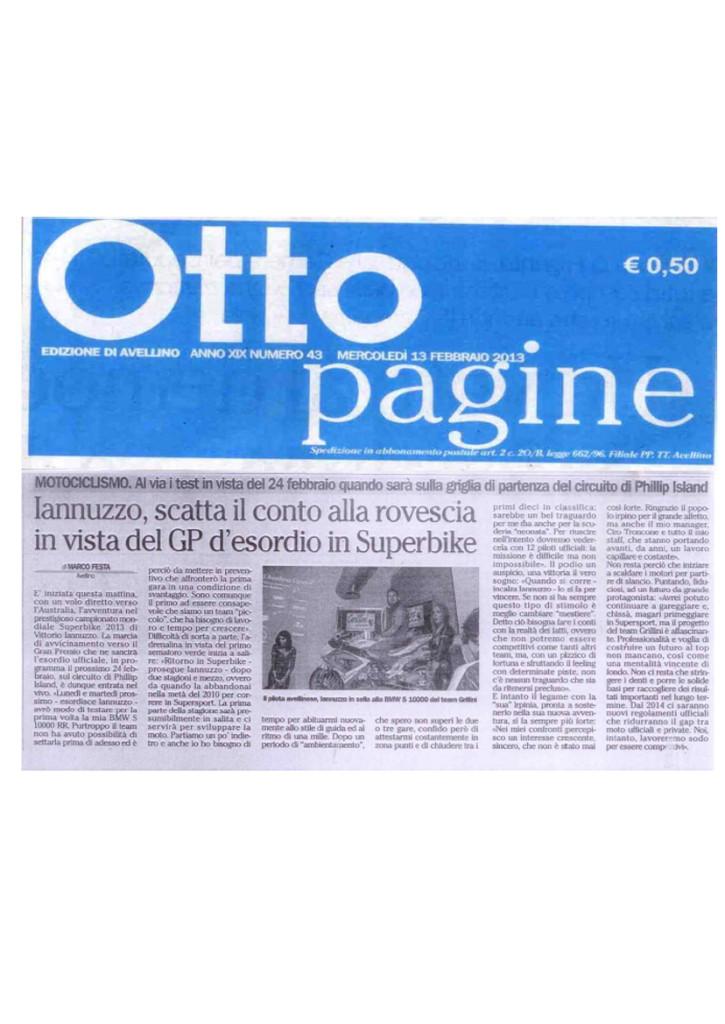 19.02.2013 - Ottopagine