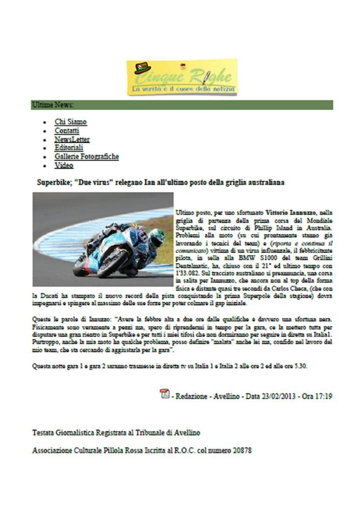 23.02.2013 - CinqueRighe