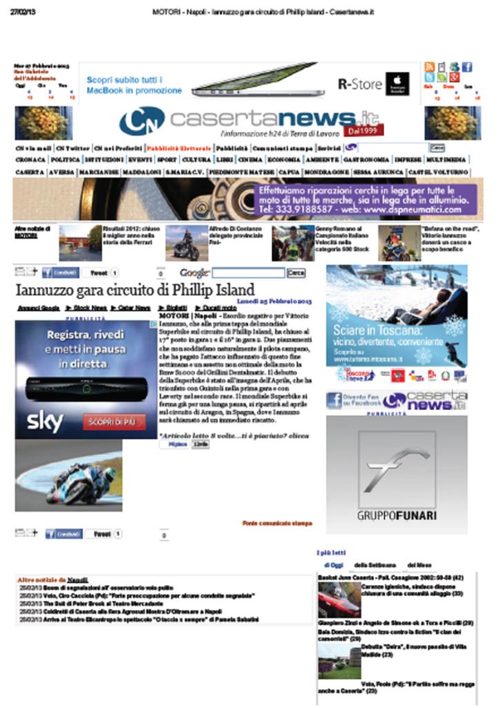 24.02.2013 - CasertaNews