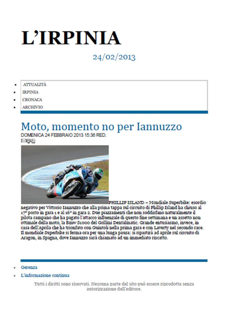 24.02.2013 - L'Irpinia