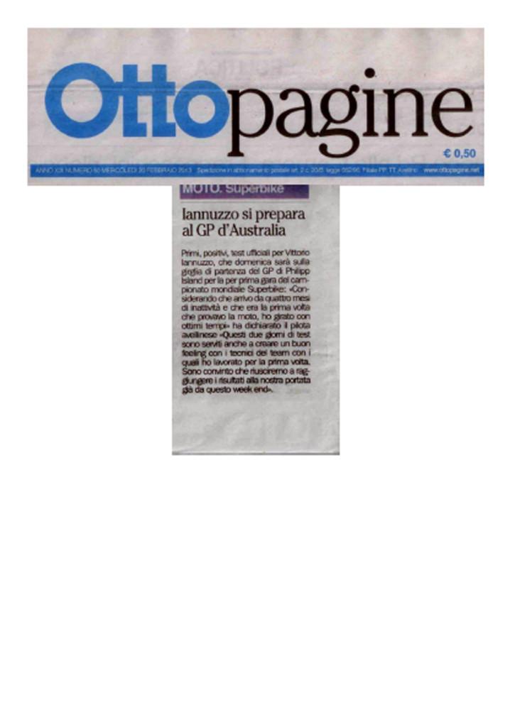 24.02.2013 - Ottopagine