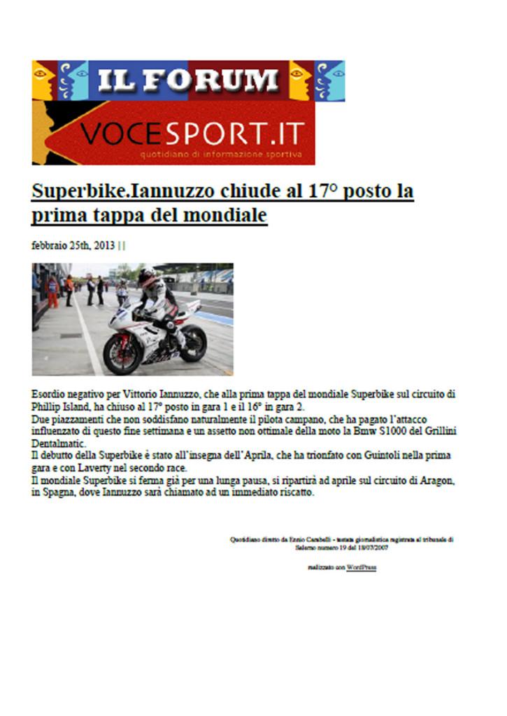 24.02.2013 - VoceSport