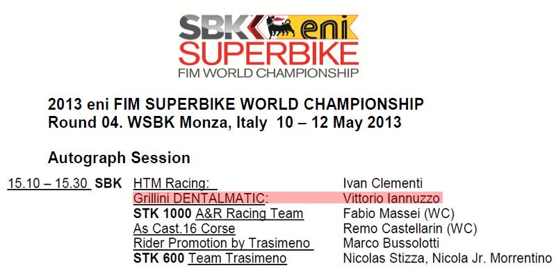 Vittorio_Iannuzzo_Grillini_Dentalmatic_SBK_BMW_S1000RR_Superbike_2013_Italia_Monza_Paddock_Show_Sessione_Autografi