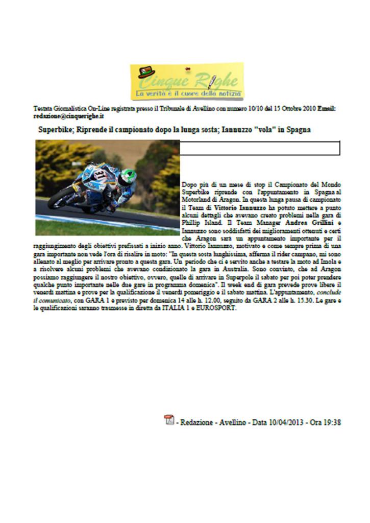 11.04.2013 - CinqueRighe