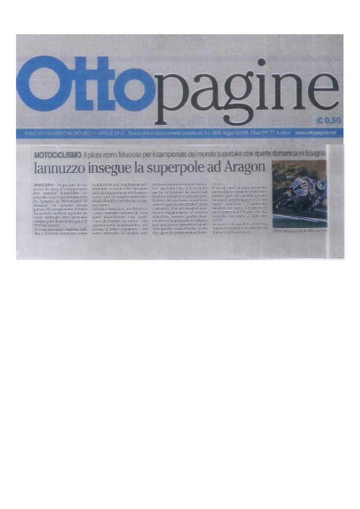 11.04.2013 - Ottopagine