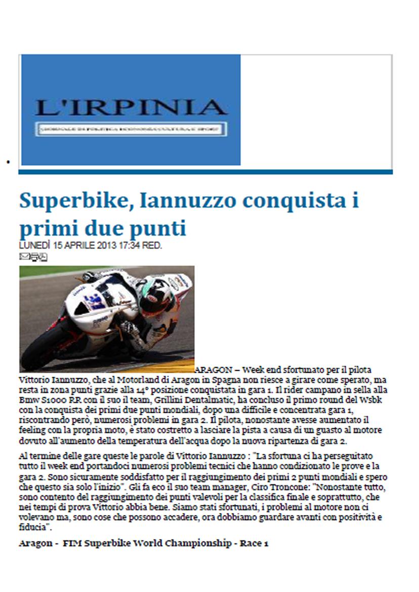 15.04.2013 - L'Irpinia