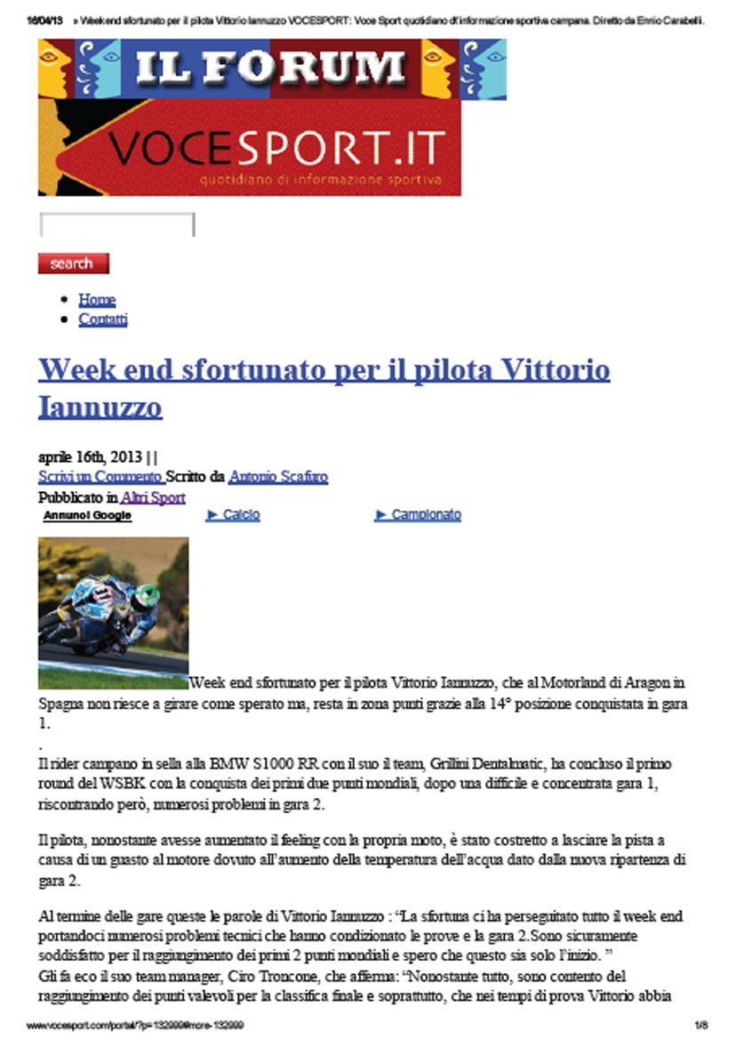 15.04.2013 - VoceSport