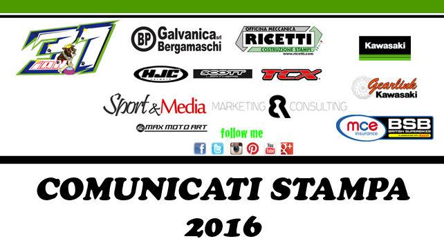 Comunicati Stampa Vittorio Iannuzzo 2016