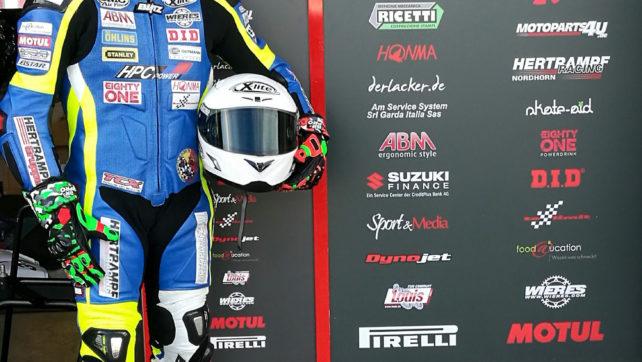 Buon Esordio per Vittorio Iannuzzo e la nuova GSX-R